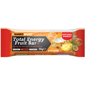 NAMEDSPORT Total Energy Caja Barritas Fruta 25 x 35g, Caribe